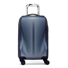 new scratch resistant diamond PC polycarbonate globe luggage