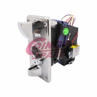 Best price durable hot food vending machine coin acceptor