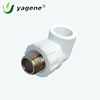 PPR Pipe And Fittings 90 Degree PPR Male Thareaded Elbow Plastic Pipe Plumbing