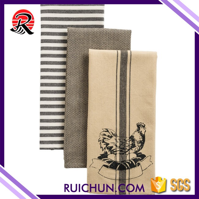 China Products Mixed Printed Wholesale Kitchen Towels plain