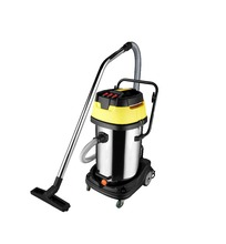 JN601 three motor 3000W 80L wet dry industrial vacuum cleaner