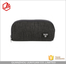 Promotional office school stationery simple pencil case for men