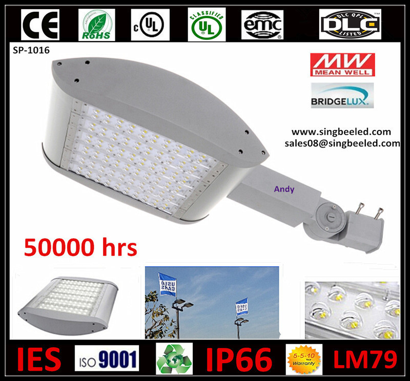 cUL UL DLC 100W 150W 250W Energy Saving 5yrs Warranty Luminaria LED Exterior