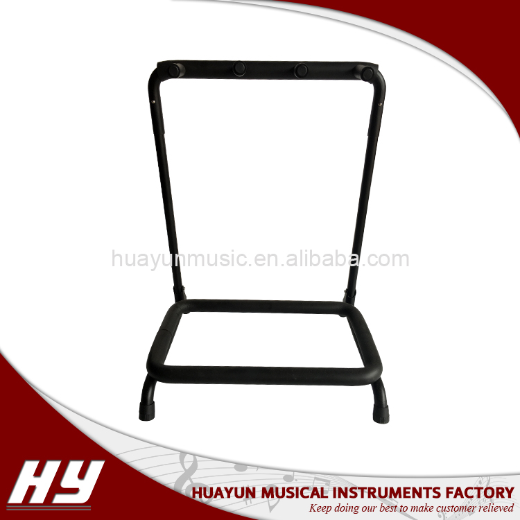 Multi acoustic and electric metal guitar rack stand multi head guitar wall rack