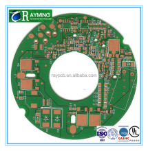 Round shape green soldermask precise pcb creation