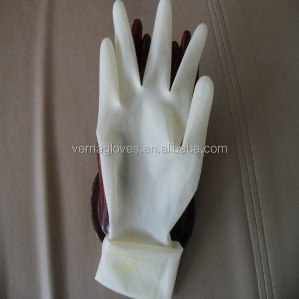 disposable wear proof non sterile latex surgical gloves in bulk