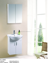 Made in China Wall Mounted Cabinet White PVC Bathroom Vanity
