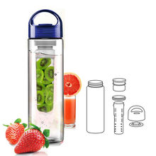 Whole year cheapest plastic joyshaker private label water botle fruit infuser/pet water bottle with handle