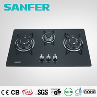 Induction cooker of propane gas stove with glass top