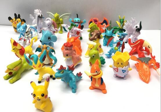 Hot 3.5-5cm PVC Pokemon Go Cute Monsters Partners Figure Toy Inside of Pokemon Go Ball Figure with 100 Different Kinds