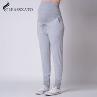 Wholesale cinched waist lounge Maternity Pants plus size