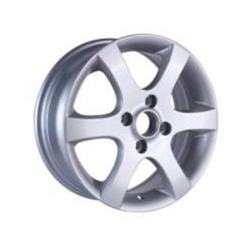 14 inch silver replica alloy wheel rim pcd 5x100 for any car ZW-H617