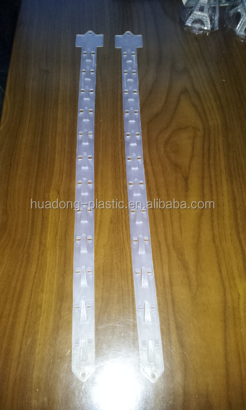 Thick Plastic hanging strip clip for supermarket use