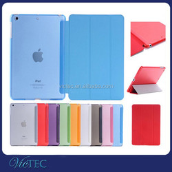 New Hot Smart Magnetic Cover for iPad air 2 Leather Case Wholesale