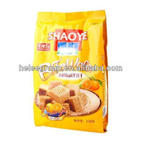 Plastic packaging bag for cookies