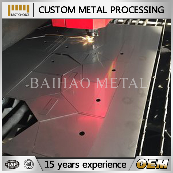 OEM/ODM sheet metal fabrication customized anticorrosive outdoor stair guardrail