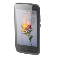 4inch cheapest 3g mobile phone MTK6580 android 4.2 and 3G smart phone