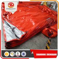 Plastic Canvas Pe Tarpaulin Panel Sheets For Construction