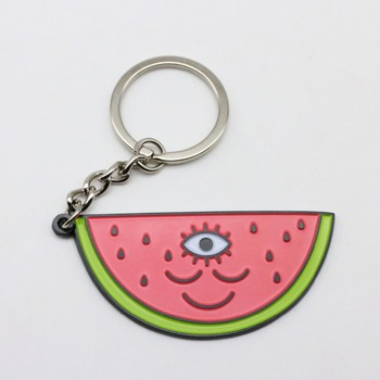 sonier-pins custom zinc alloy metal carton character keyring in key chains
