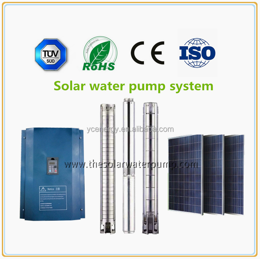Agricultural irrigation submersible deep well pumps solar water pump system high speed water pump