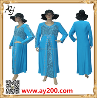 Fashion long sleeve design wholesale party wear abaya in malaysia