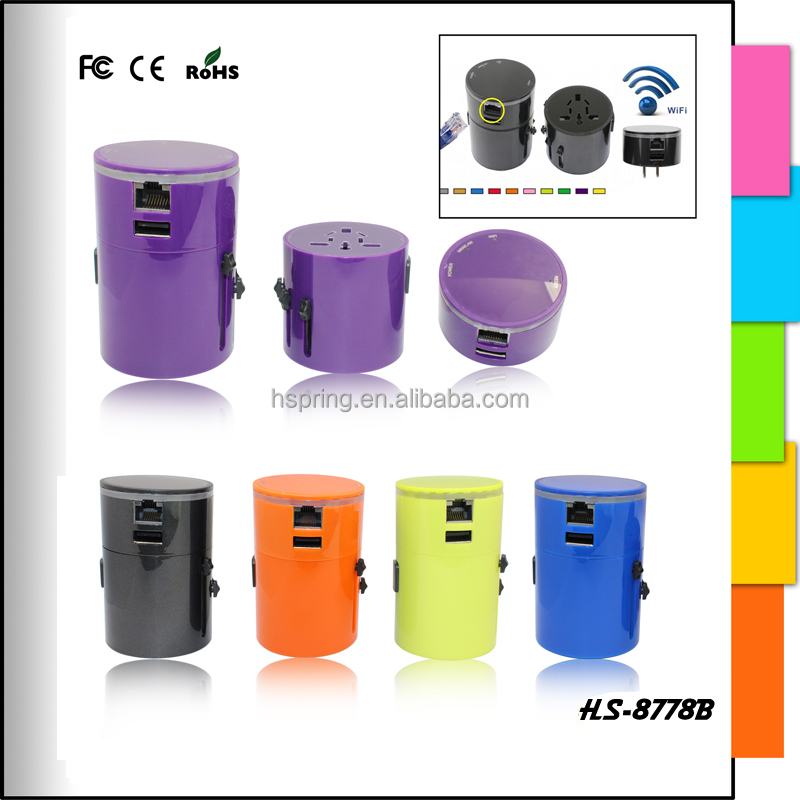 USB charger 3g wifi router world travel adaptor