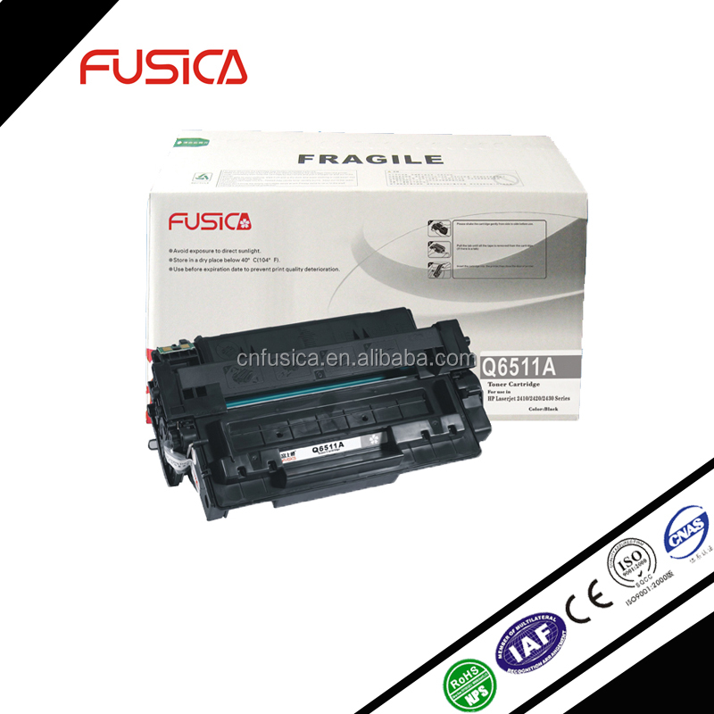 Good quality toner cartridge for hp compatible with LaserJet 2400/2410/2420/2430(WITH CHIP) 6511a Toner For Hp