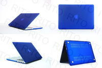 "METALLIC ROYAL BLUE Rubberized Hard Case Cover for Macbook Pro15"" 15.4"" Retina Screen Display"