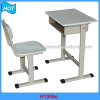 good design metal leg office furniture classroom desk and chair