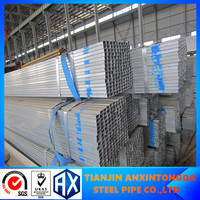 galvanized rectangular steel tubin china supplier 316l steel square pipe astm std a500 square pipe