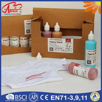 permanent fast dry non toxic pearl fabric paint wholesale fabric paint