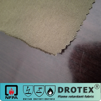 EN ISO 11611 Inherently Flame Retardant modacrylic/cotton anti-static twill fabric for safety protective workwear