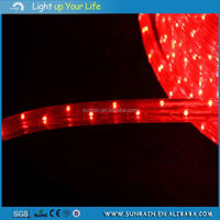 wholesale decorated two meter one cutting magical color changing LED rope light