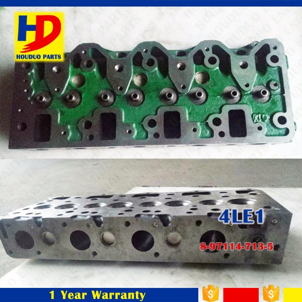 Good Price Engine Parts 4LE1 Cylinder Head OEM No 8-97114-713-5