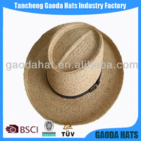Wholesale high quality men straw panama hat