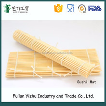 Top sell 100% Food Grade Bamboo Sushi Roller/Sushi Mat for making sushi roll