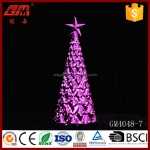 christmas outdoor christmas tree with led light