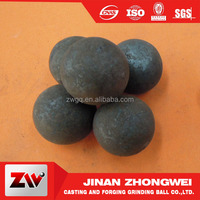 Lower breakage Forged grinding steel ball for mining milling