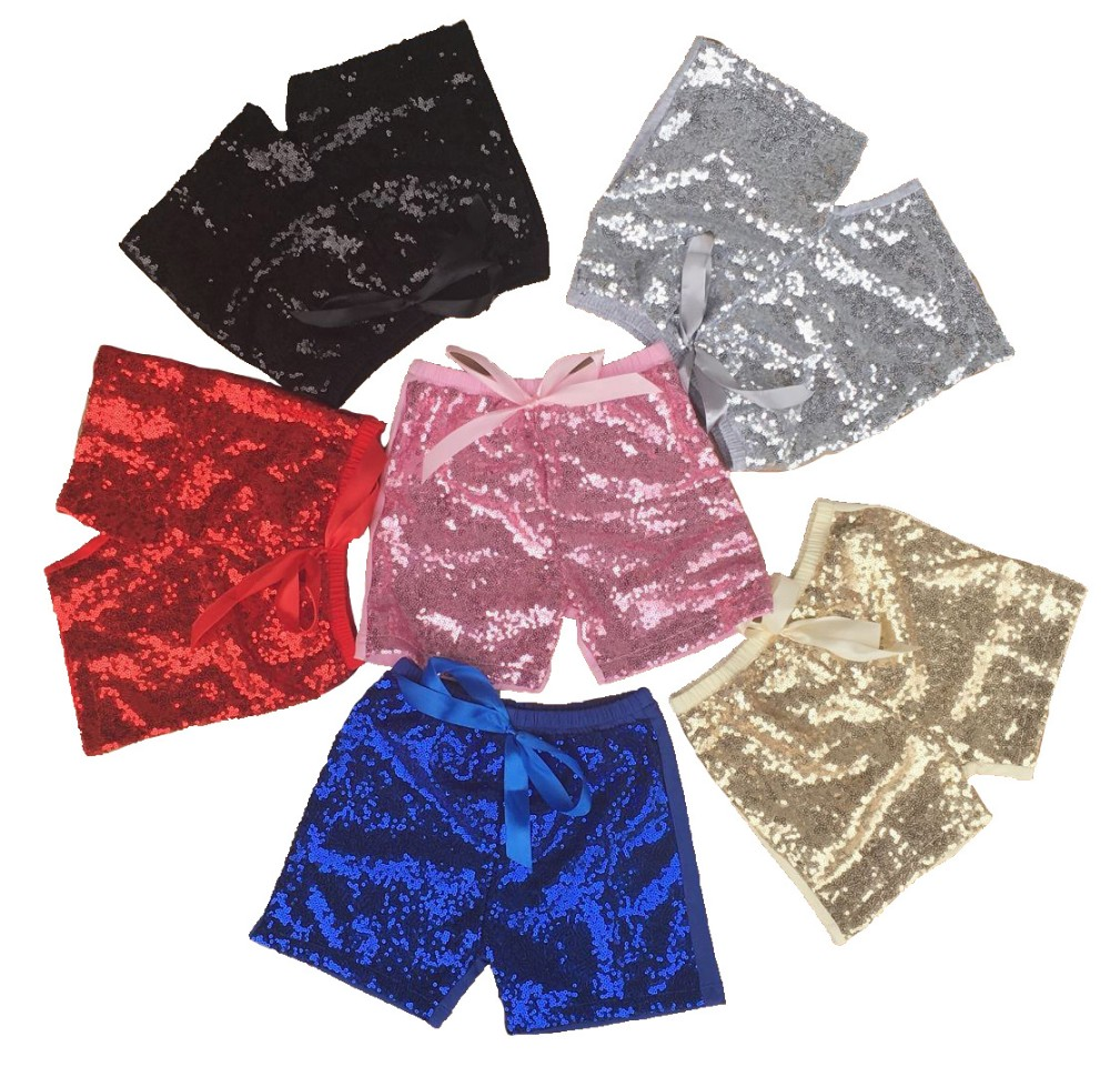bulk wholesale kids clothing kids sequin shorts boy shorts