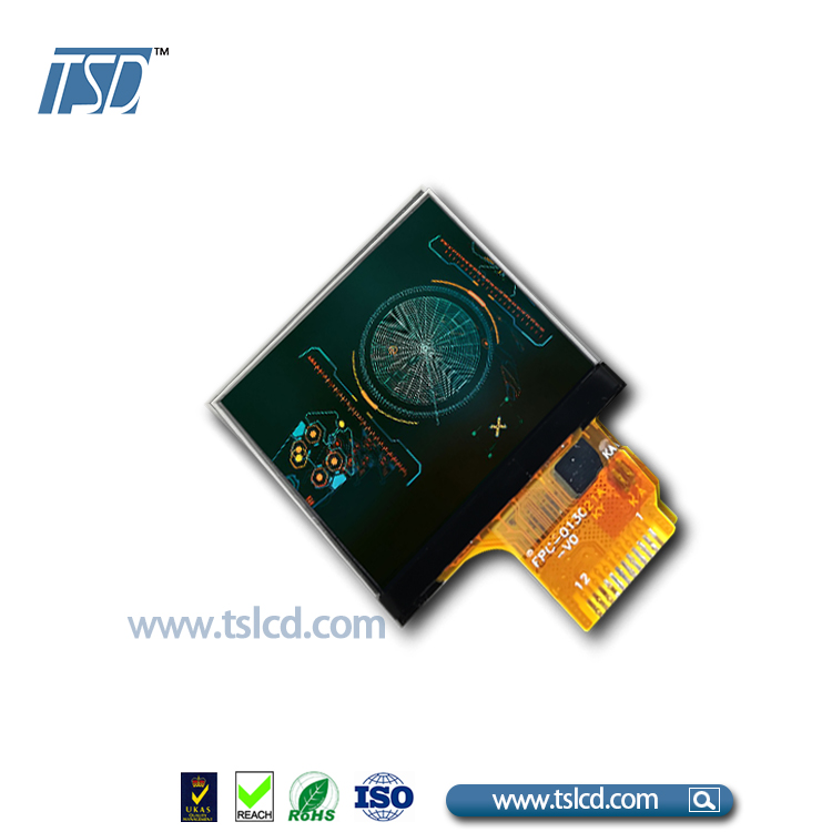 1.3 inch 240*240 TFT LCD touch screen panel with ips Viewing Direction display