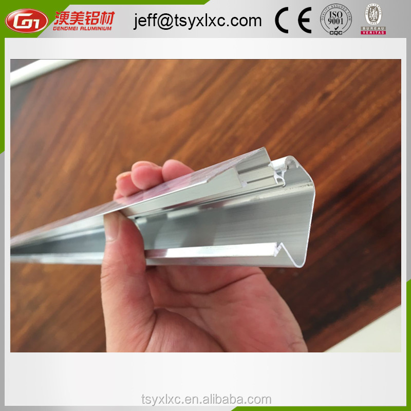 OEM high quality aluminium extrusion profile for picture frame