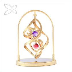 Luxury Lovely Gold Plated Metal Dove Wedding Gift Away