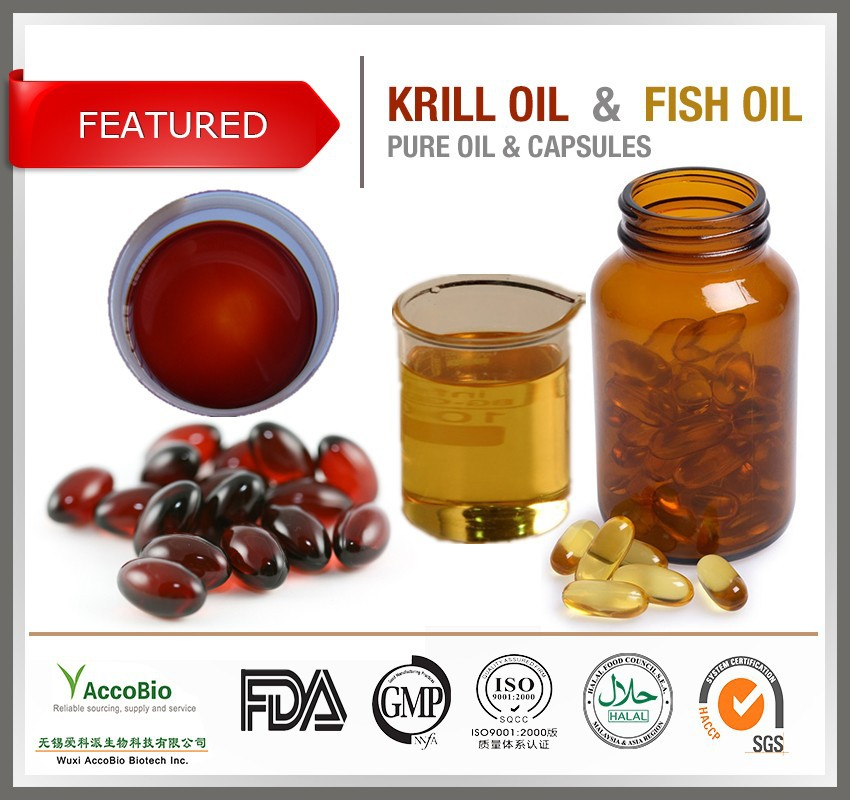 Gmp factory supply antarctic krill oil pure omega 3 krill for Krill or fish oil