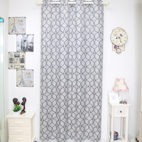 Wholesale Turkish fireproof woven jacquard curtain for small quantity curtain order