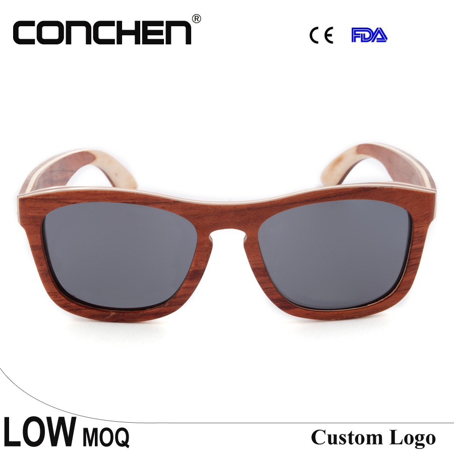 Sung glasses 2016 brands skate wood sunglasses