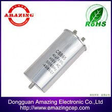 HV terminals type air conditioner capacitor cbb65 25uf