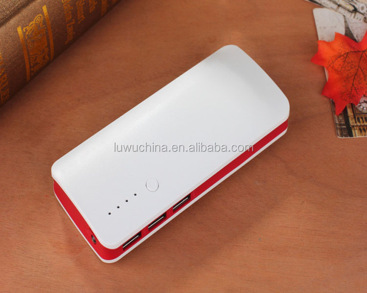18650 USB Battery power bank Aluminum Portable Power Bank 12000mAh