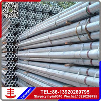 200mm diameter galvanized round welded steel pipe products in Alibaba