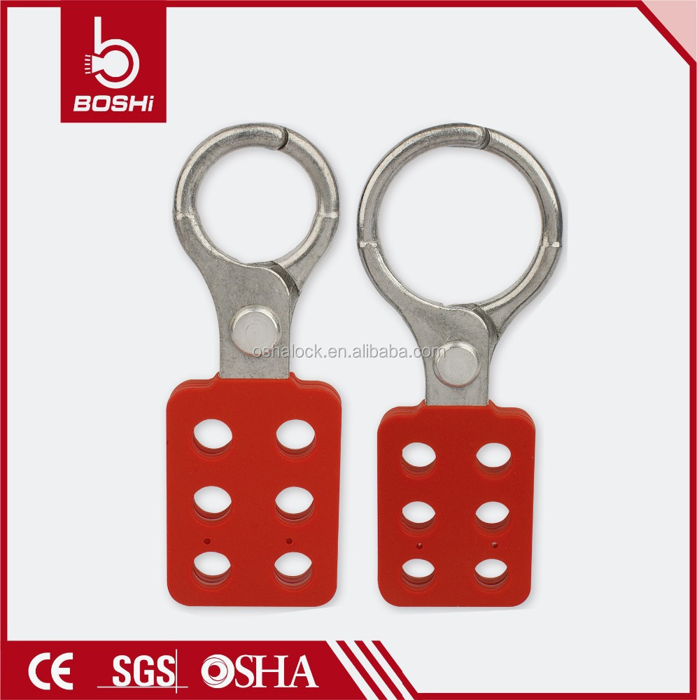 BOSHI Sparkproof Aluminum Lockout Hasp BD-K11 with 6 Holes, satey lockout manufacturer