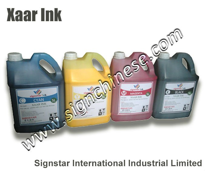 Oil xaar ink compatible for Wit color printers w